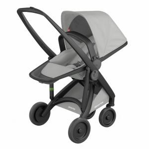 Greentom Kinderwagen Reversible Zwart/Grijs