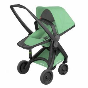 Greentom Kinderwagen Reversible Zwart/Mint