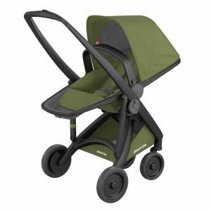 Greentom Kinderwagen Reversible Zwart/Olive