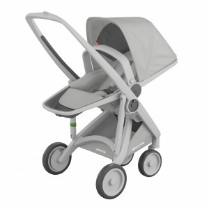 Greentom Kinderwagen Reversible Grijs/Grijs