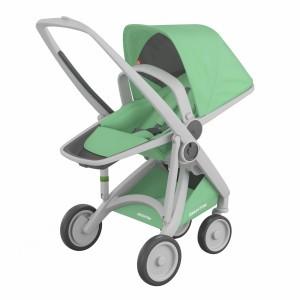 Greentom Kinderwagen Reversible Grijs/Mint