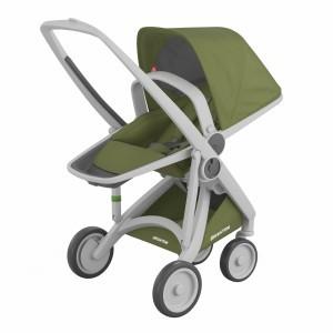 Greentom Kinderwagen Reversible Grijs/Olive