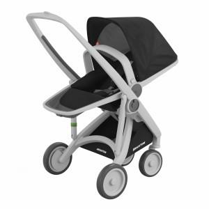 Greentom Kinderwagen Reversible Grijs/Zwart