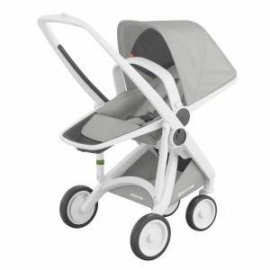 Greentom Kinderwagen Reversible Wit/Grijs