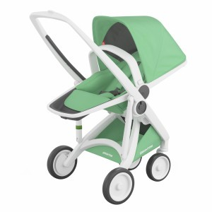 Greentom Kinderwagen Reversible Wit/Mint