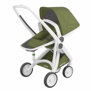 Greentom Kinderwagen Reversible Wit/Olive
