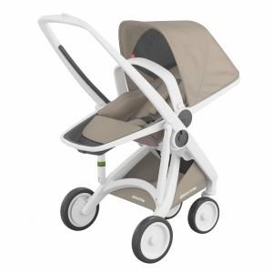 Greentom Kinderwagen Reversible Wit/Sand