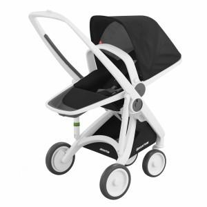 Greentom Kinderwagen Reversible Wit/Zwart