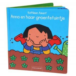 Clavis Leesboekje Anna en haar groentetuintje