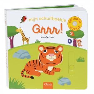 Clavis Mijn Schuif- en Geluidenboekje Grrr!