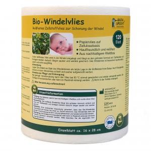 Grünspecht Biologische Inlegvliezen voor wasbare luiers (120 stuks)