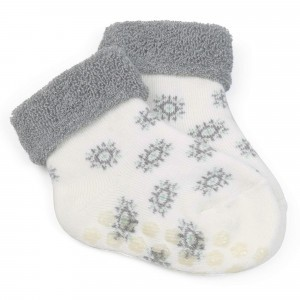 Grünspecht Antislip Sokken voor Peuters Wit