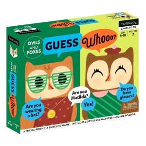 Mudpuppy Guessing Game Owls & Foxes