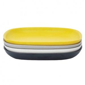 Ekobo Bord Klein Set (Zwart/Stone/Wit/Geel)