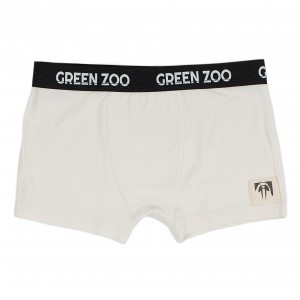 Green Zoo Boxer Short Adam Wit Bamboo