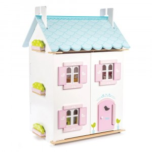 Le Toy Van Poppenhuis 'Blue Bird Cottage'