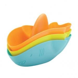Ubbi Badspeelgoed stapelbare haai
