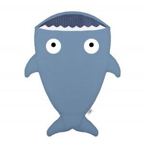 Baby Bites Trappelzak Haai Blauw