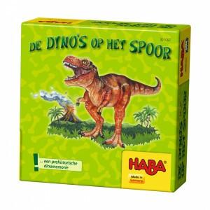 Haba Supermini Spel De dino's op het spoor