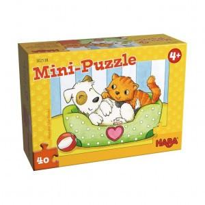 Haba Mini Puzzel Huisdieren
