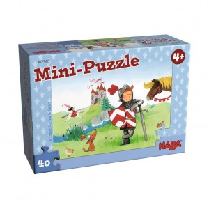Haba Mini Puzzel Ridder