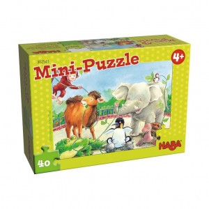 Haba Mini Puzzel Zoo