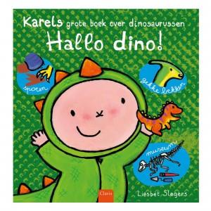 Clavis Leesboekje Karels grote boek over dinosaurussen 'Hallo dino!'