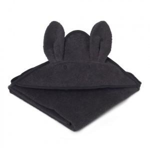 Liewood Badcape Rabbit Donker Grijs