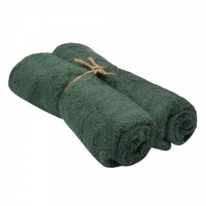 Timboo Handdoek (Medium) Set van 2 Aspen Green