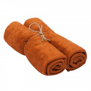 Timboo Handdoek (Medium) Set van 2 Inca Rust