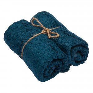Timboo Handdoek (Medium) Set van 2 Midnight Blue