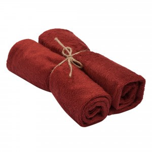 Timboo Handdoek (Medium) Set van 2 Rosewood