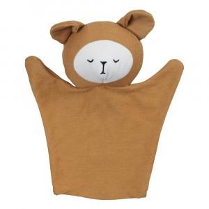 Fabelab Handpop Bear Ochre