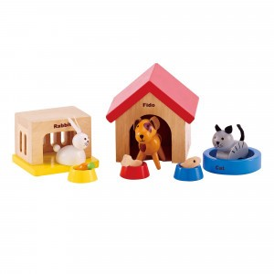 Hape Poppenhuis Huisdieren