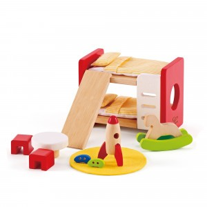 Hape Poppenhuis Kinderkamer