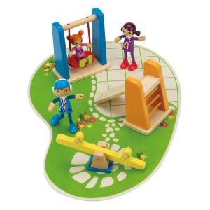 Hape Poppenhuis Speelplaats