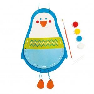 Hape Knutsel je eigen handtasje Pinguin