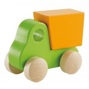 Hape Baby Vrachtwagen Groen