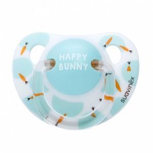Suavinex Fopspeen Anatomisch Latex 0-6 maand Happy Bunny