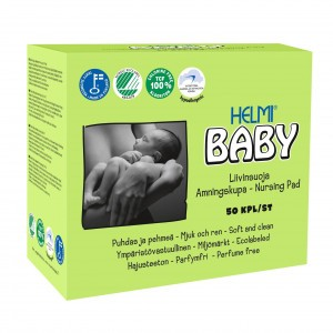 Helmi Baby Borstvoedingskompres