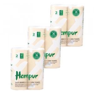 Hempur Bamboe Keukenrol (3 x 2-pack)