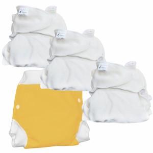 Lulu Nature Nachtpakket Dodo Hennep Luier Nacht (12-20 kg)