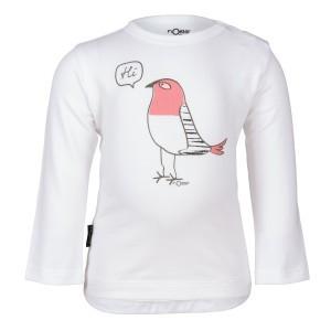 nOeser Newborn T-Shirt met Lange Mouwen 'Hi'