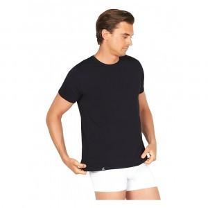 Boody Heren T-shirt Ronde Hals Zwart