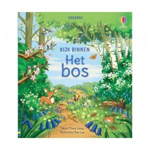 Usborne Flapjesboek Kijk Binnen In Het Bos