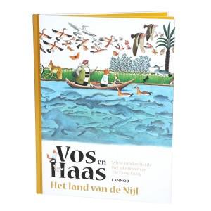 Lannoo Boek Vos en Haas 'Het land van de Nijl'