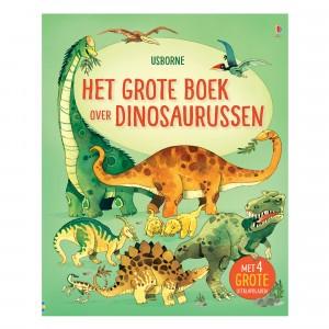 Usborne Flapjesboek Het grote boek over grote dinosaurussen