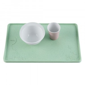Hevea Placemat Upcycled Mint