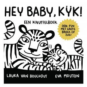 Standaard Uitgeverij Knuffelboek Hey Baby, Kijk! Eva Mouton
