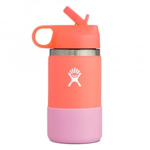 Hydro Flask Insulated Drinkfles Kids Wide Mouth (354 ml) Hibiscus